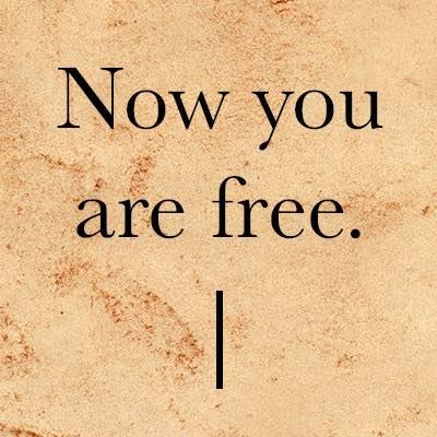 Bildergebnis für now you are free